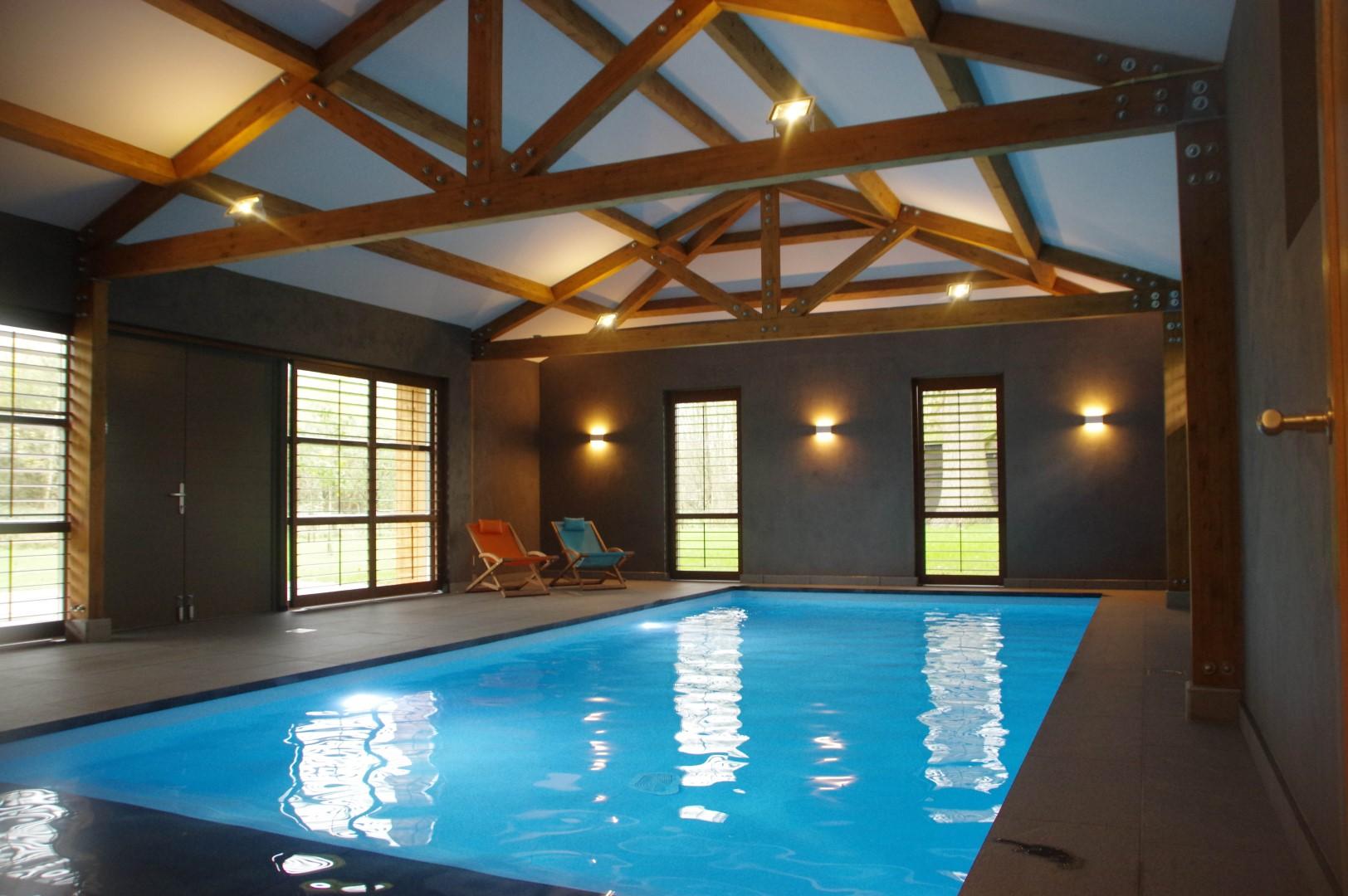 'Poolhouse'- een energiezuinig privé zwembad