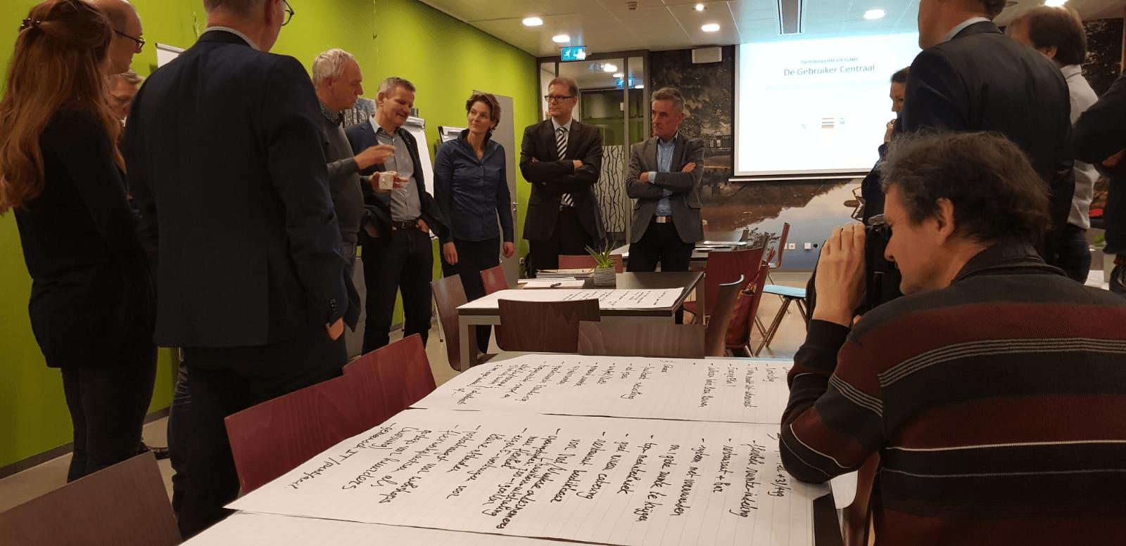 MKB'ers grensstreek Winterswijk met Duitse buren in duurzaam kantoor