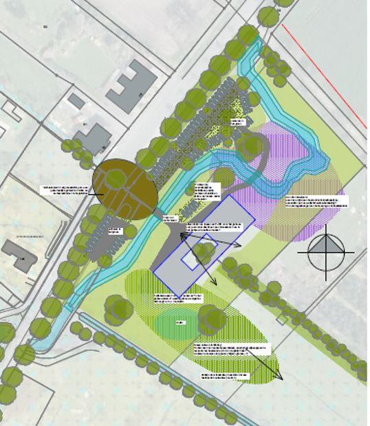 NL-DE servicecentrum Gaxel wordt betaalbaar energieneutraal gebouwd