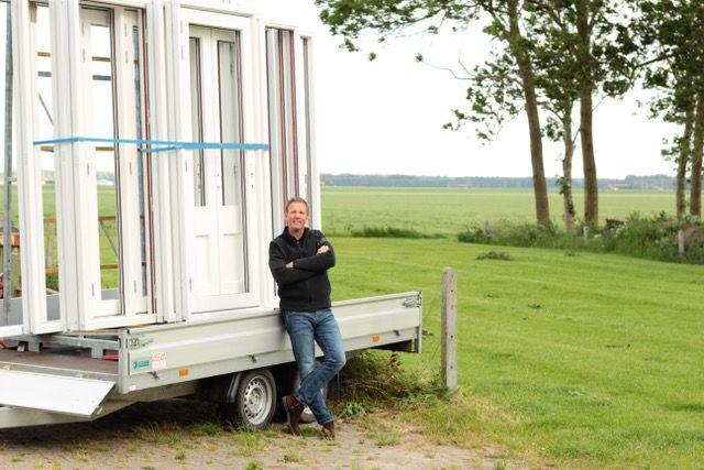 energieleverend kozijn Hans Paalman