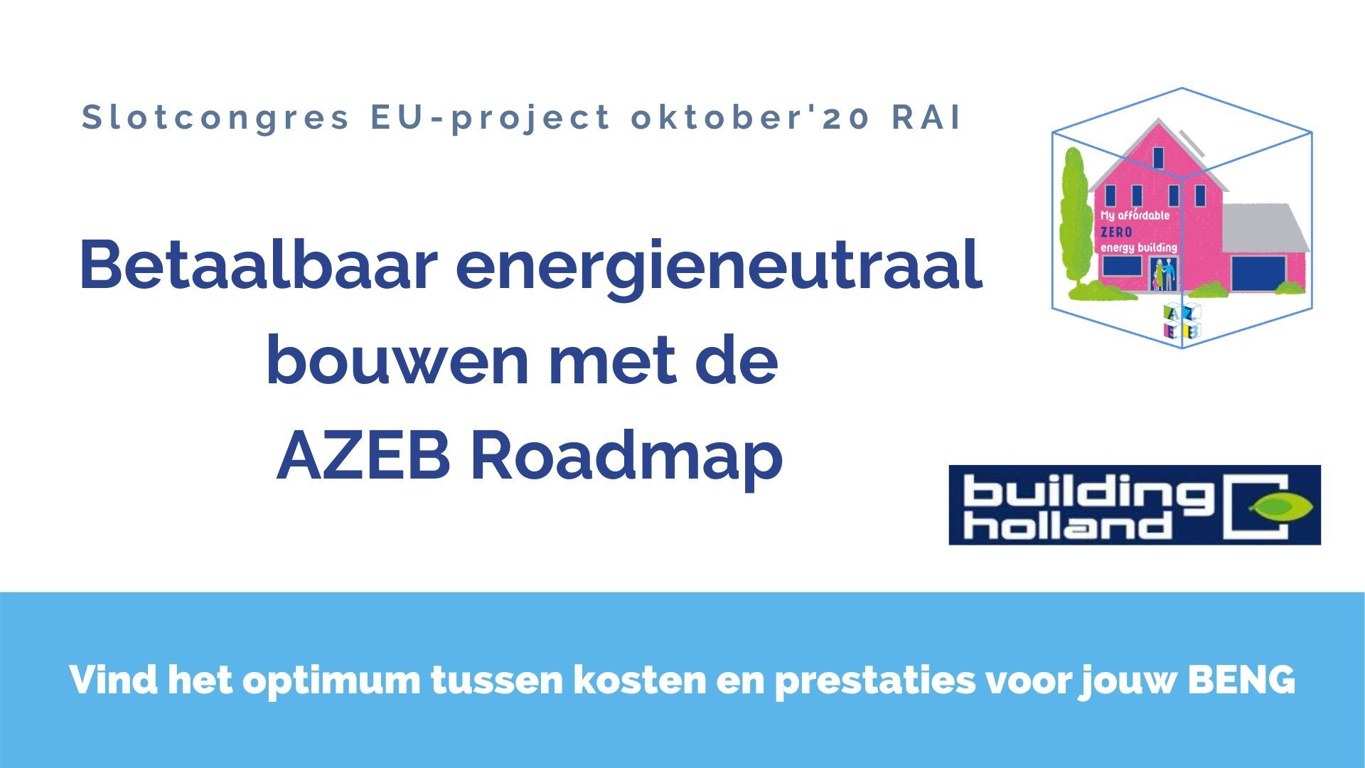 AZEB eind events 2020 in Nederland