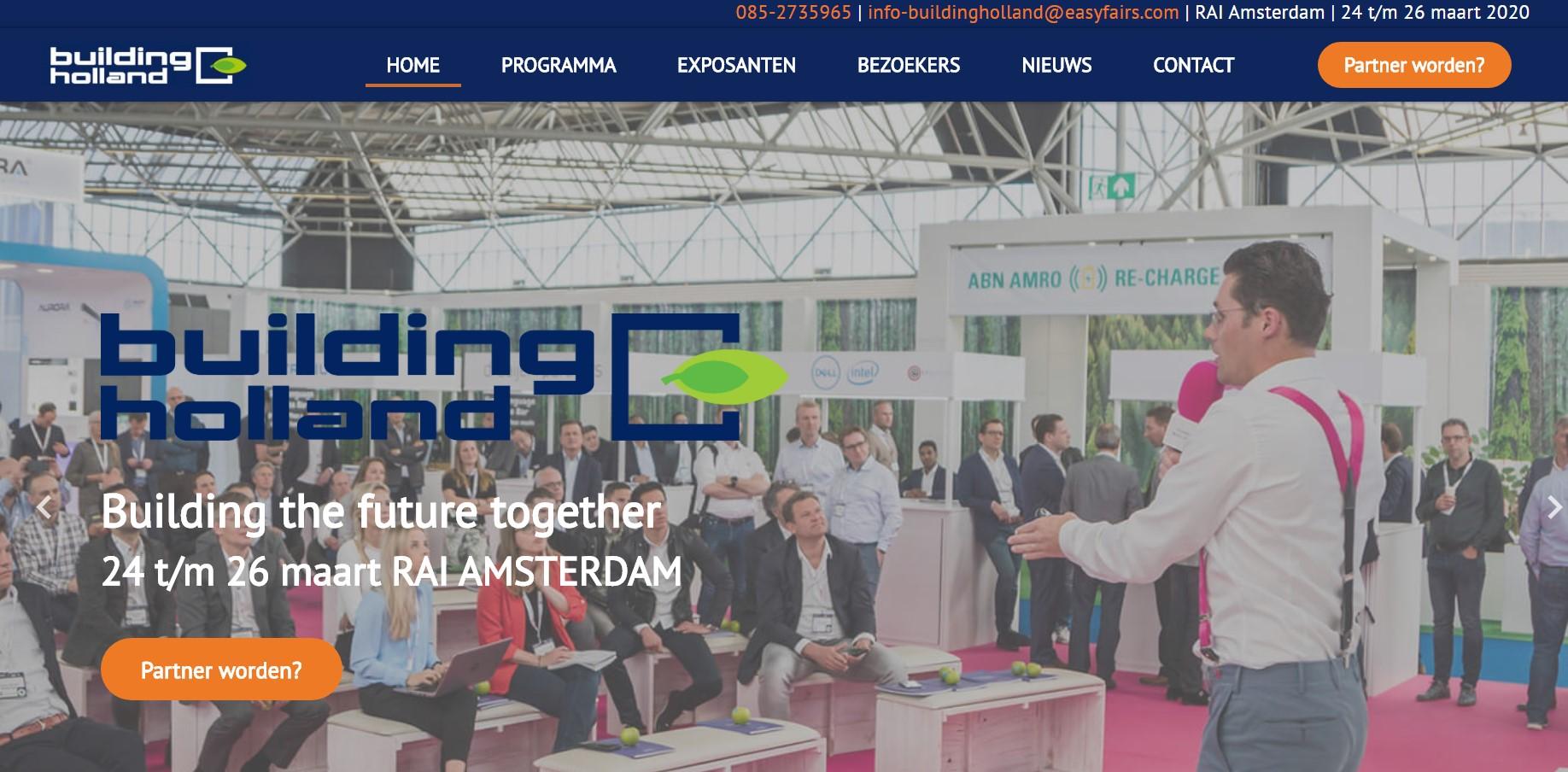 BuildingHolland AZEB events