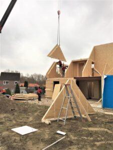 BioBased nieuwbouwwoning houtskeletbouw
